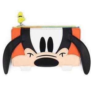 Disney Goofy Cosplay Zip Wallet